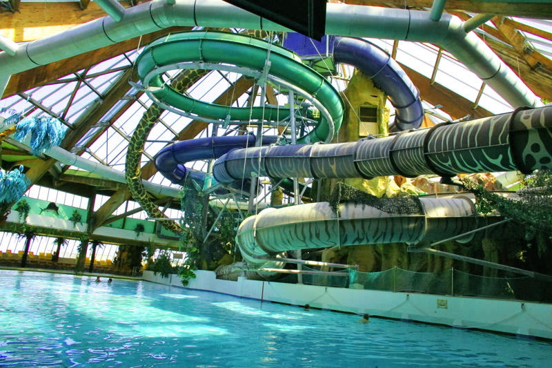 Aqualud water park le touquet the good life france for Center parc piscine