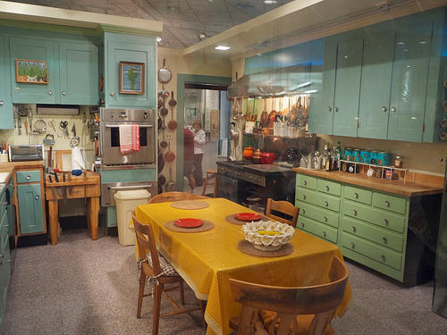 Julia Child's kitchen at The Smithsonian CC Flickr davidboeke