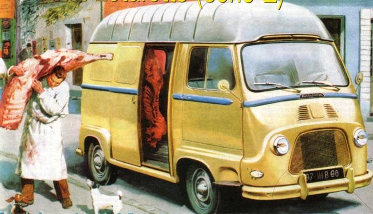 Renault Estafette delivery van