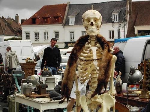 Antiques Fair, Montreuil-sur-Mer