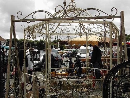 Antiques at Montreuil-sur-Mer