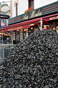 Mussels mound at Braderie de Lille