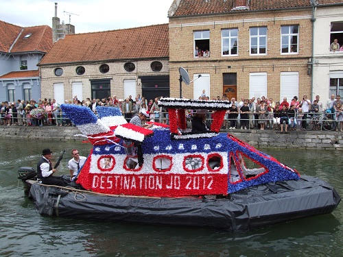 St Omer Nautical Procession Haut Pont,