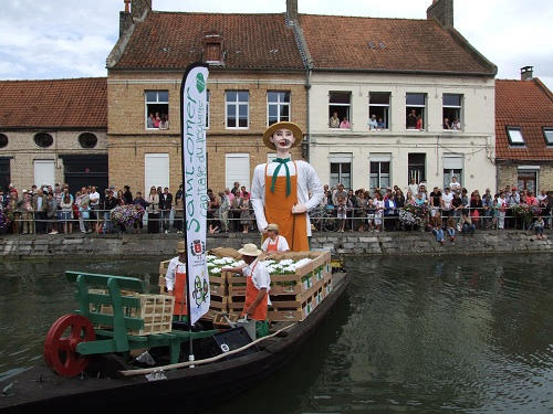 Nautical Procession, St Omer, Haut Pont