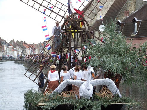 Nautical Procession at Haut Pont, St Omer