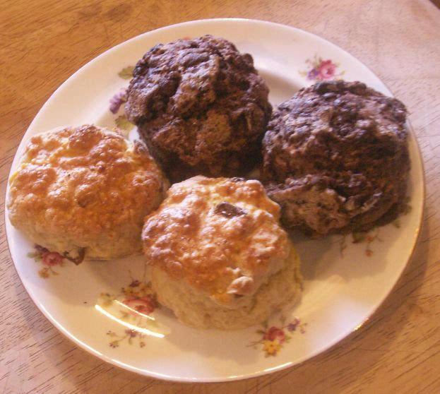 how to make plain scones with self raising flour