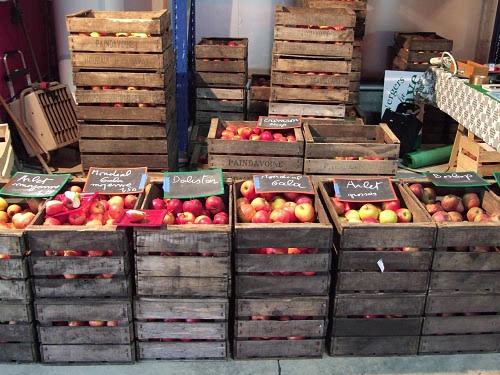 Apples in France