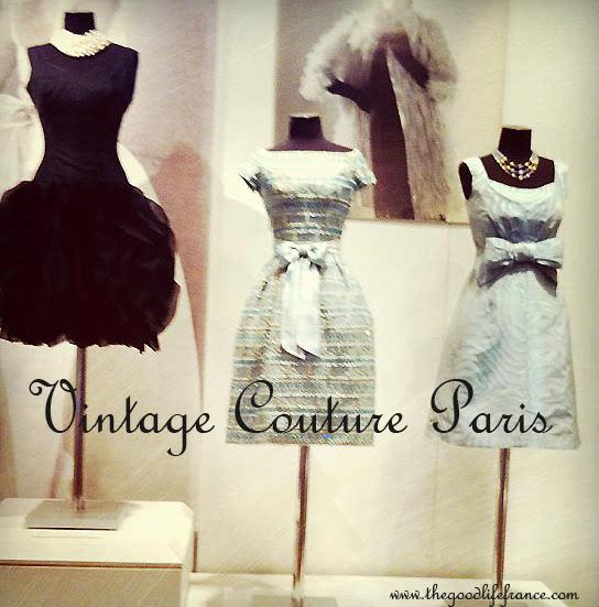 Vintage Paris clothes shopping