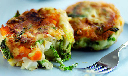 How To Make Bubble And Squeak Cakes