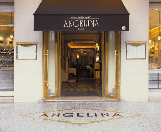 Angelina tea room paris