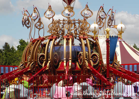 Disneyland paris fantasyland review the good life france for Amusement parks in paris