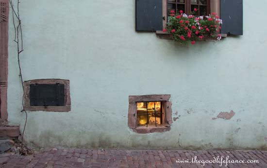 Beautiful windows in France
