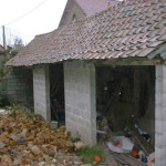Renovating in France | Roof tiles rain down from the sky