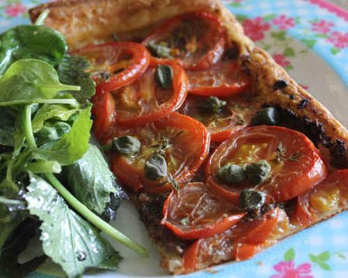 French Summer Tomato Tart : The Good Life France
