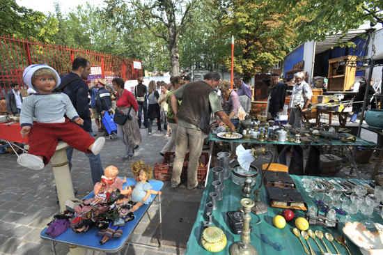lille braderie flea market