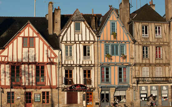 Rolling Hills And Picturesque Villages Of Brittany France