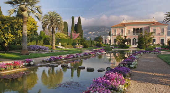 Villa and jardins ephrussi de rothschild provence the for Jardin villa rothschild