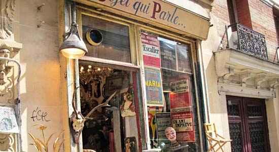 fabulous vintage shop in paris l object qui parle the good life france. Black Bedroom Furniture Sets. Home Design Ideas
