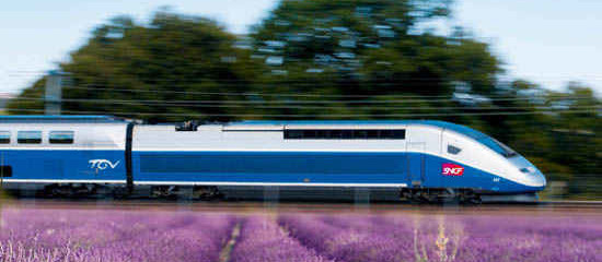 French words and phrases for Train Travel in France