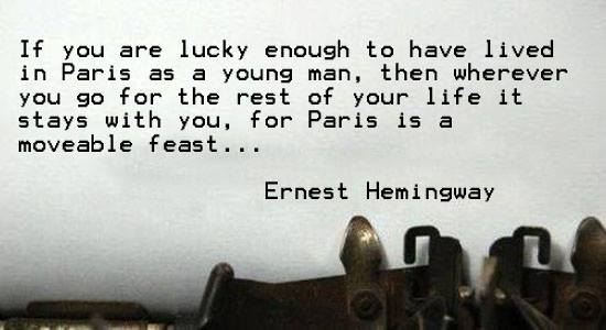 a moveable feast ernest hemingway