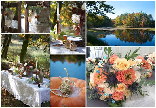 french wedding style for autumn