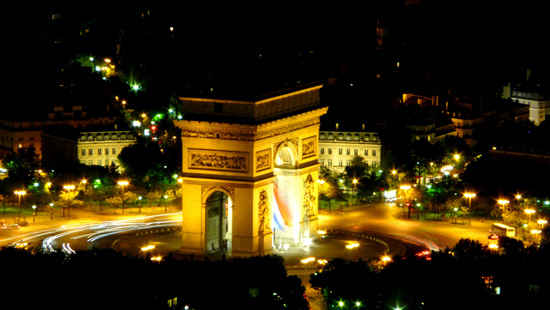 history of the champs elysees