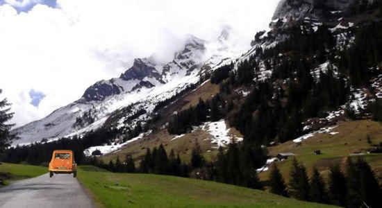 drive ski holiday france