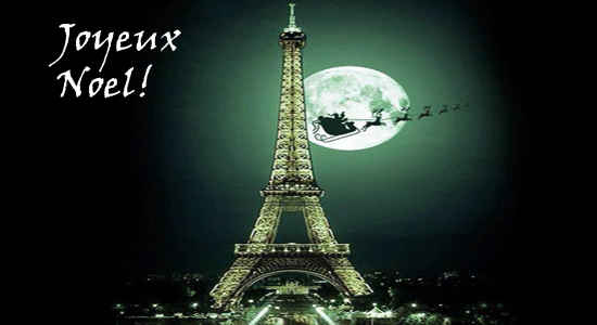 merry christmas from france - Merry Christmas French
