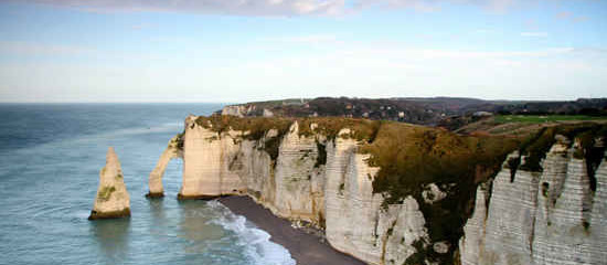 Etretat Cliffs Normandy