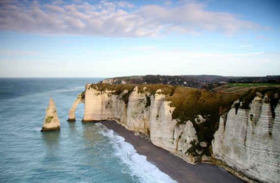etretat cliffs normandy