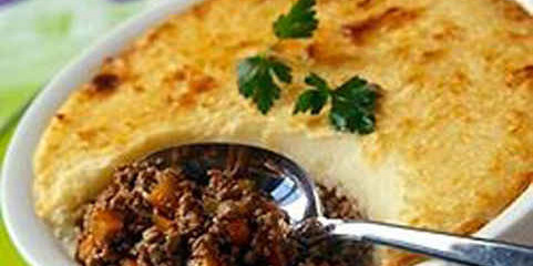 Hachis Parmentier – a French meat and potato pie