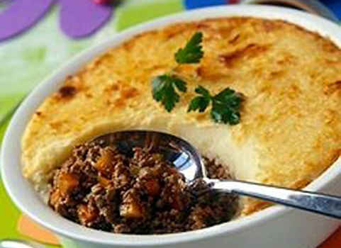 Hachis Parmentier A French Meat And Potato Pie The