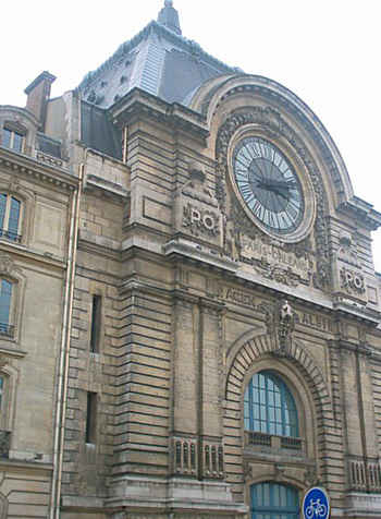 orsay clock front
