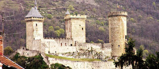 Hiking in France | Foix Castle and ancient caves