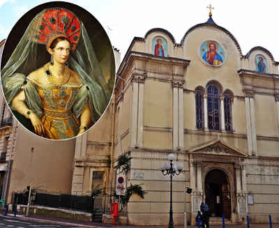 russian churches of nice france