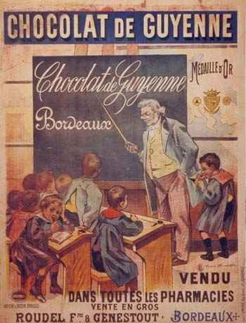 history of chocolate in france