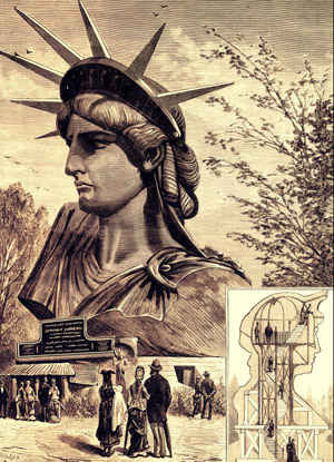 the fascinating french history of the statue of liberty the good