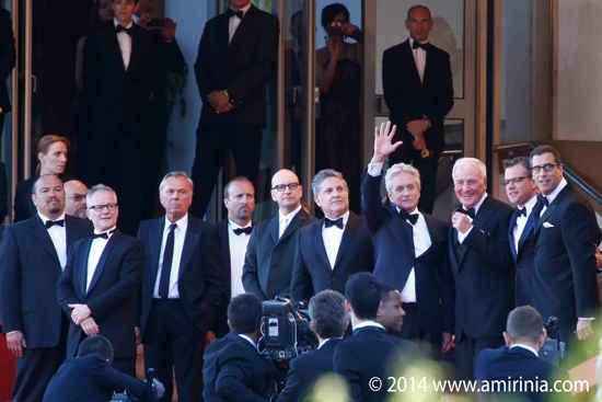 Michael Douglas Matt Damon Cannes Film Festival