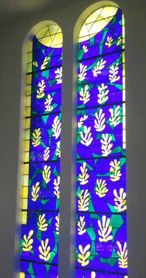Matisse Chapel windows tree of life