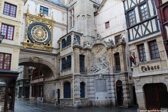 rouen clock tower