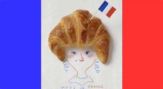 croissant made in france