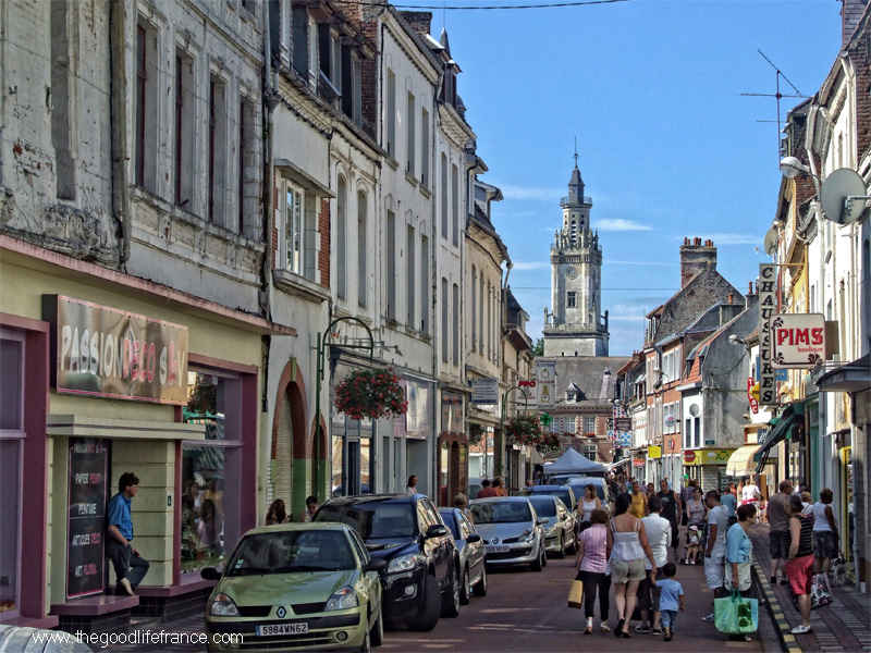 Hesdin in the seven valleys typical french town the - Tables decennales pas de calais ...