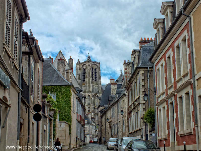 bourges cathedral view