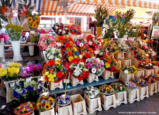 cours saleya flowers
