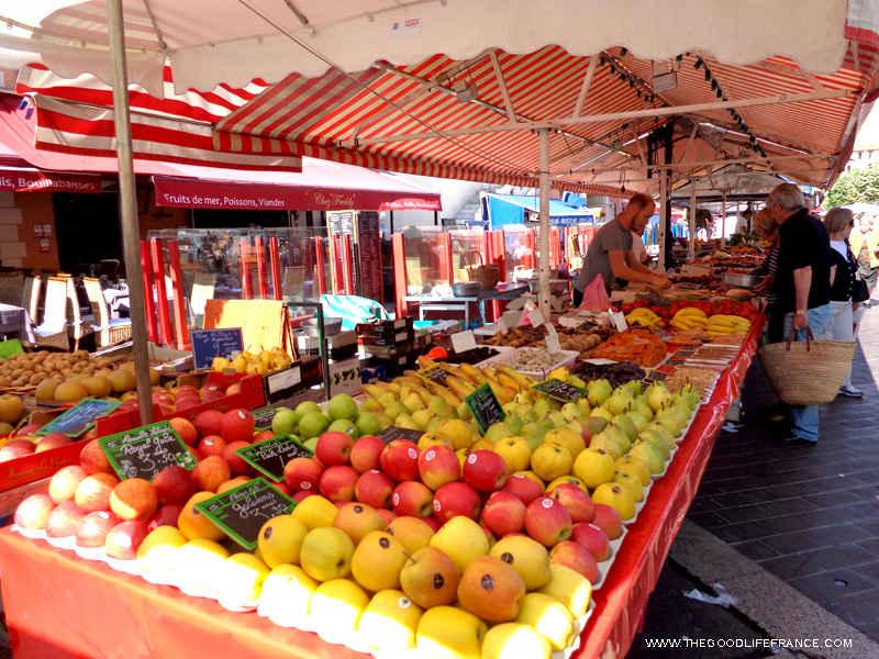 cours saleya market fruit veg