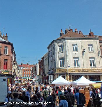lille wazemmes market