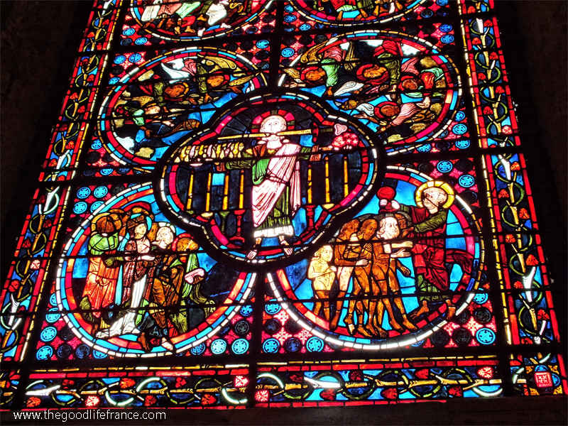 Bourges cathedral window