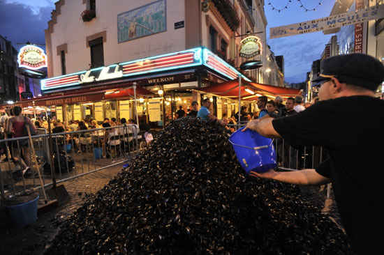 lille braderie mussels