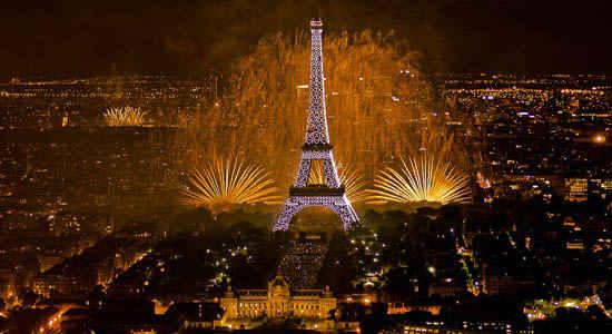 fireworks in paris bastille day