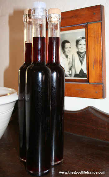 home made creme de cassis
